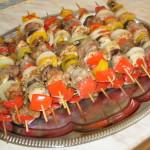 Szaszłyki …  także z piekarnika