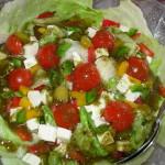 Sałatka grecka z pomidorkami koktajlowymi