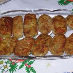 Kotlety jajeczno – pieczarkowe