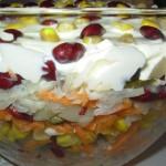 Kolorowa sałatka bez doprawiania