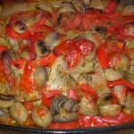 Zapiekanka mięsna z szynki pod pierzynką